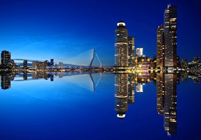Rotterdam Skyline The Netherlands